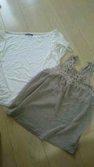 セット購入で700円 ローヴス Tシャツ サイズM