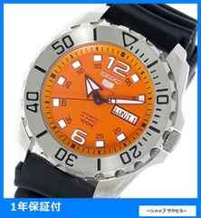 新品 即買い■セイコー 自動巻き 腕時計 SRPB39K1 オレンジ