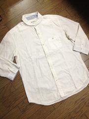 美品CIAO PANIC 丸襟7分丈シャツ 日本製 チャオパニック