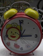 FUJI,TVオリジナル大型ベル目覚まし時計中古完動品