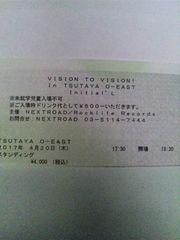 4/20 Initial'L ワンマン TSUTAYA O-EAST A30番台