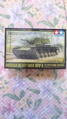 TAMIYA  1/48ソビエトKV—1重戦車〔増加装甲形〕