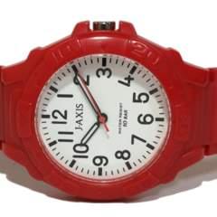 良品【980円〜】J-AXIS【10BAR防水】ユニセックス腕時計