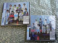 Hey!Say!JUMP/OVER THE TOP【初回盤1+2】CD+DVD/新品2枚set