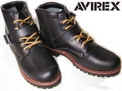 AVIREXアビレックス エンジニア ブーツTIGERバイカー2931黒us7.5