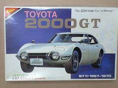 1/24 ニチモ 日本模型 TOY0TA 2000GT