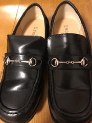 未使用☆HELLOKID'S☆フォーマル黒靴22.5cm