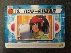 ★ロックマンエグゼ6 改造カード『13.パクチーの料理道具』★