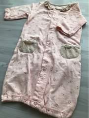 【キムラタン】Biquette カバーオール 花柄 ピンク 50〜70 baby