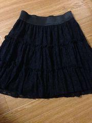 ☆ブラック☆レース☆スカート☆