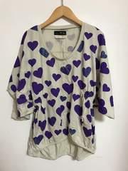 scolararrowスカラーアローハートプリントTシャツ