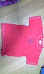 赤いTシャツ(女の子用/80�a)