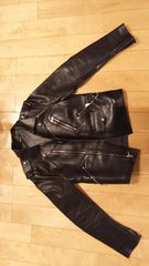 エイプAPE(アベイシングエイプ) ジャケット 革ジャン Sサイズ
