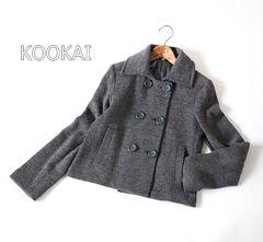 9号♪ KOOKAI*クーカイ* ダブルフェイスショートコート♪