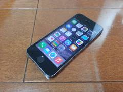 即落/即発!!美中古品 iPhone 5s 32GB グレイ 一括支払い済み