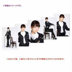 即決 乃木坂46 WEB限定 6月個別生写真 5枚 執事風 深川麻衣