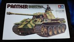 タミヤ1/35 ドイツ・パンサー中戦車