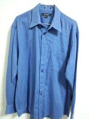 US青シャツ