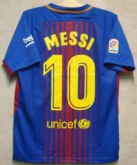 新品☆メッシ☆バルセロナ☆赤青M10番半袖Nアルゼンチン代表楽天