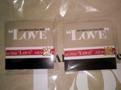 即決!嵐 ARASHI 2013 LOVE 名古屋限定 リボンブレス 2個セット 櫻井翔