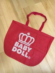 BABY DOLL☆特大☆メッシュ☆トートバッグ☆RED☆