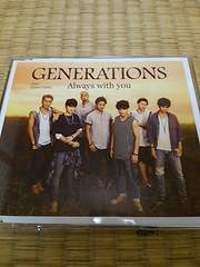 GENERATIONS AlwayswithyouワンコインCD