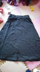 新品タグ付き ウエストしっかりゴム 柔らか生地のスカート