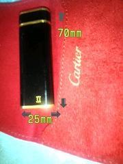 Cartier ライター 着火確認済み 正規品