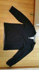 黒のトップス【ブラック/Lサイズ】