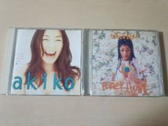 akiko CD「BACKHOME」「CRAZY ABOUT YOU」アキコ 2枚セット★