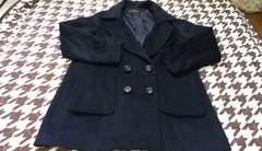 送料込ブラックジャケットコート