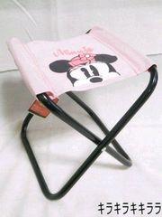 ミニーマウス花火大会やアウトドアにも便利★コンパクト*折りたたみ椅子