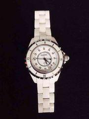 【新品未使用】シャネル腕時計 J12 セラミック ノベルティ
