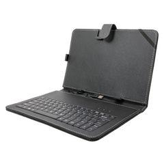 ☆Android端末向けUSBキーボード付きレザーケース 10インチ