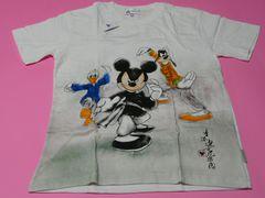 香港ディズニーランド ミッキー・ドナルド・グーフィーTシャツ