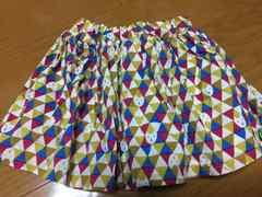 フタフタ★futafuta★リボン付き北欧風ネコスカート80�p