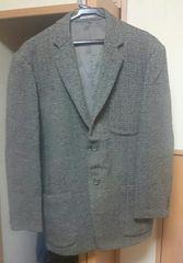 ウールツィードジャケット M おじさんコーディネートに