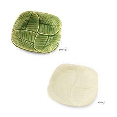 プルメリアリーフトレイS アジアン/ハワイアンキッチン雑貨 皿