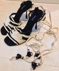 新品マークジェイコブスハイヒールサンダルパンプス靴女性23.5cm