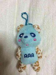 AAA☆ヒョウ柄え〜パンダ☆青
