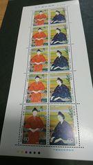 未使用記念切手(60円)1シート
