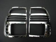ランドクルーザー100系 メッキ テールライトリング