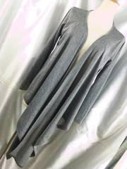 〓前裾が長〜い(^O^)〓カーディガン〓M〓グレー〓