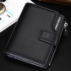送料無料 二つ折り財布 大容量カード12枚 ポケット4ヶ所 16HS