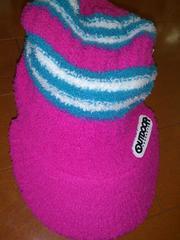 新品★アウトドア OUTDOOR ニット帽 キャップ 帽子 ピンク