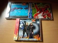 レーサーX CDアルバム3枚セット★Racer Xポール・ギルバート