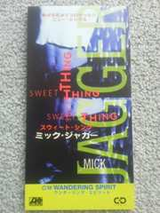 ミックジャガー シングルCD スウィートシング 美品 ローリングストーンズ