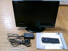 19V型 液晶テレビ VERINI 実働