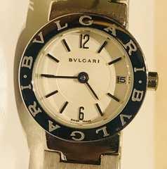 良品ブルガリブルガリ時計BB23SSレディース時計ブレス電池新品