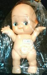 新品 レトロ ビンテージ キューピー人形 羽なし 百合 お人形